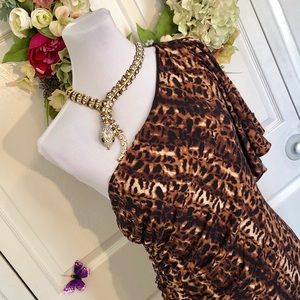 Calvin Klein Sexy Animal Print Dress
